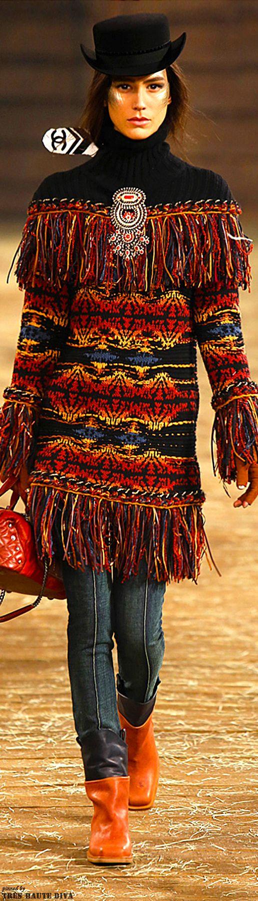Chanel Pre-Fall 2014 Dallas ♔ Très Haute Diva www.vogue.com/...