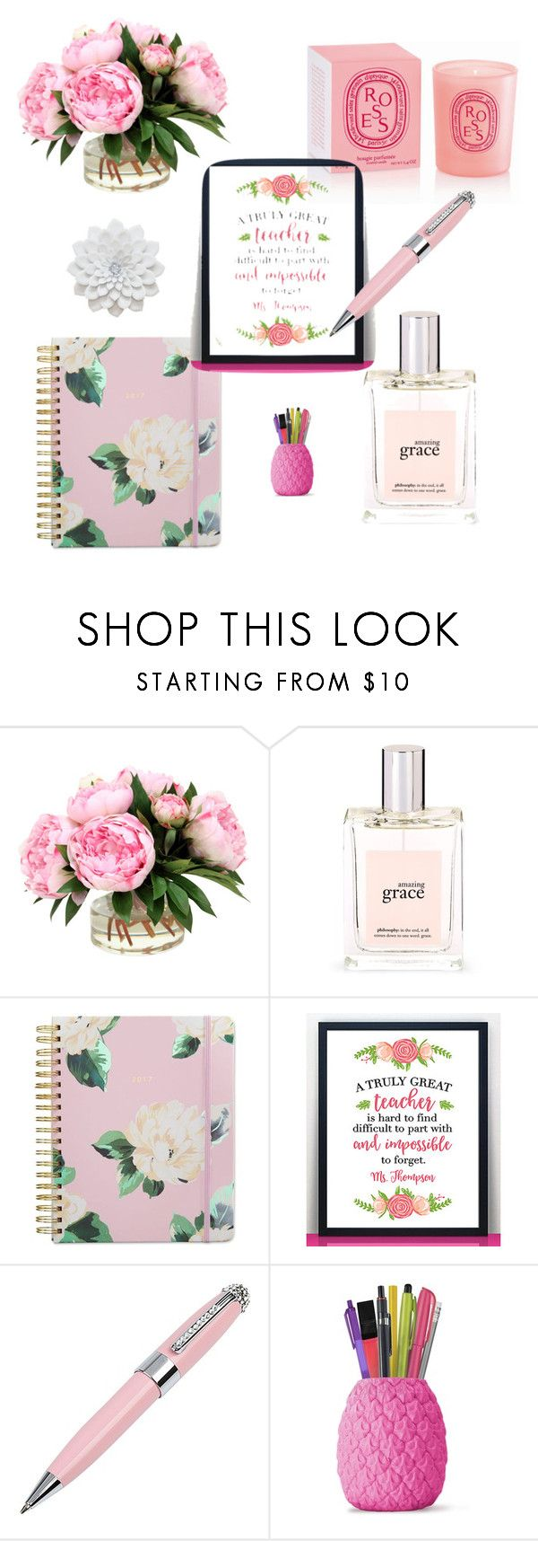 """Teacher Appreciation Day"" by danelle-bern on Polyvore featuring philosophy, ban.do, Hypolita and ICE London"