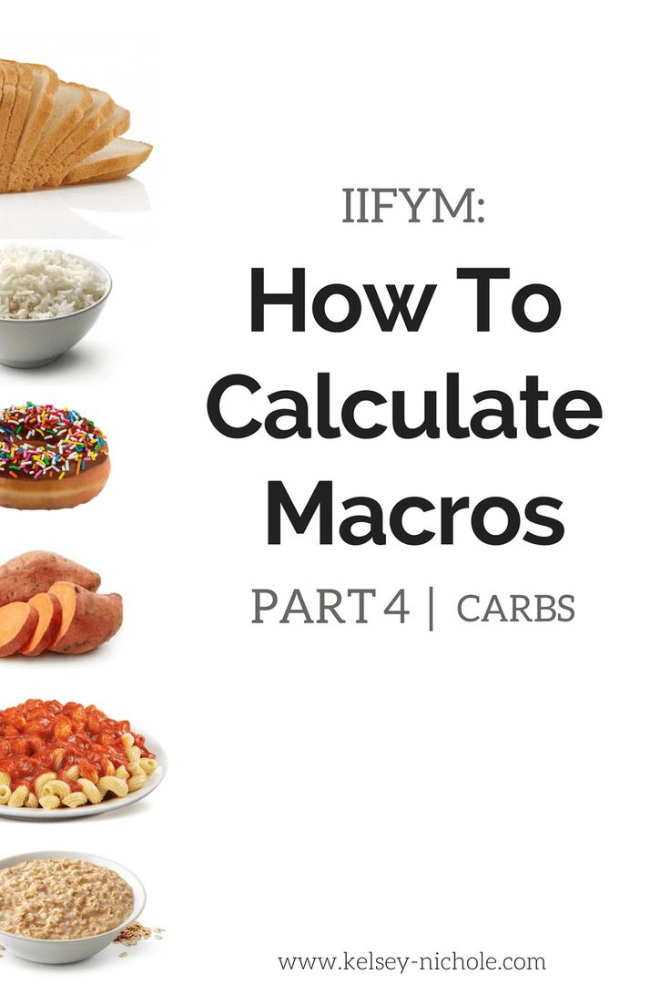 How To Calculate Macros Part 4  Carbs