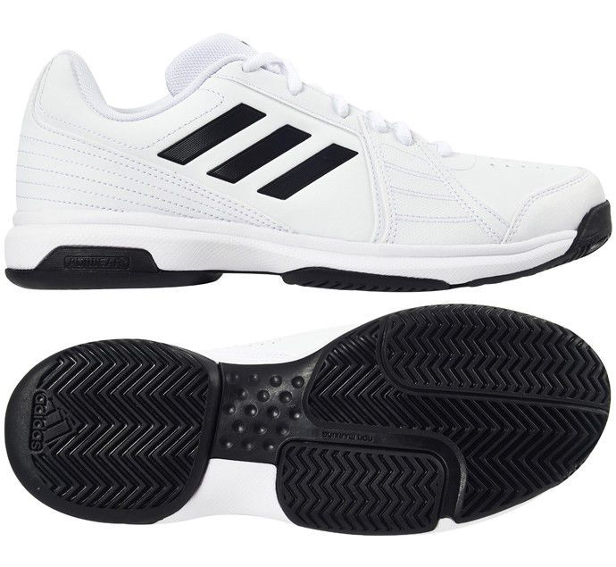 adidas Approach Men Tennis Shoes for All Court White Racket