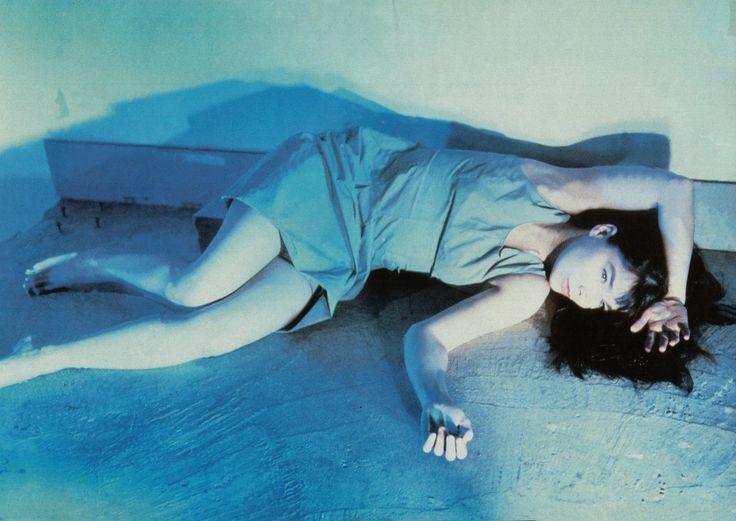 Nobuyoshi Araki shot Icelandic megastar Björk for the cover of her first full-length album, Telegram.
