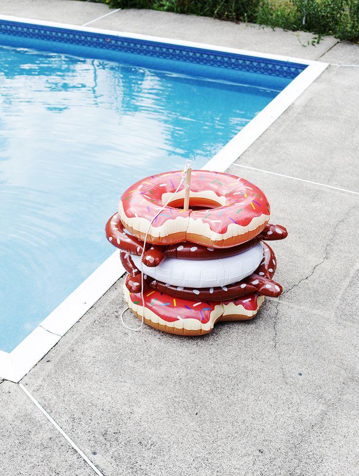 Diy Raining Men Costume: 25+ Best Ideas About Pool Float Storage On Pinterest