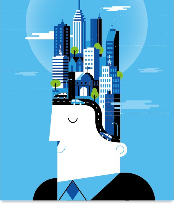 BBVA Corporative Illustration by Mauco Sosa http://on.be.net/1cembVW