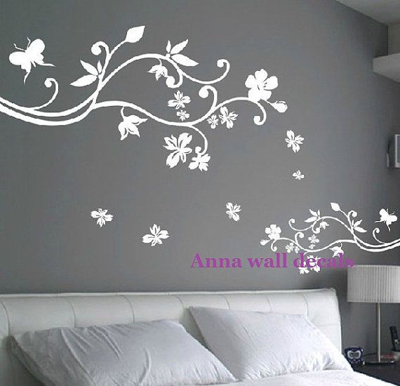 Bloom: Wall Decals, Children Wall Decals,vinyl Wall Decal, Wall  Stickers,flowers Wall Decals,Wall Stickers, Nursery Wall Stickers On Etsy,  ...