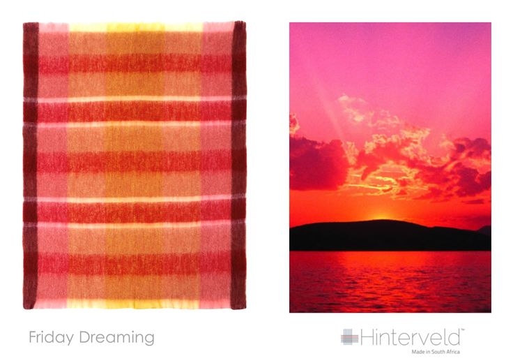 Friday Dreaming  - this Beautiful Story Mohair throw, was inspired by this amazing image