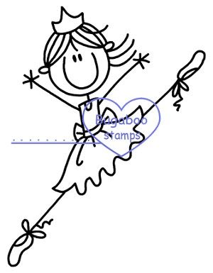 Stick Figure Ballerina... Haha so cute!!! Apparently stick figure is my new nickname at work... No one understands i am healthy and fit lol