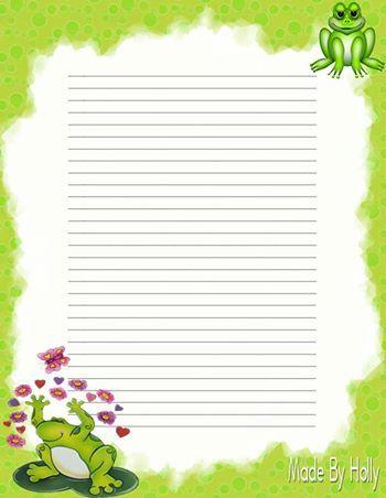 Writing stationery
