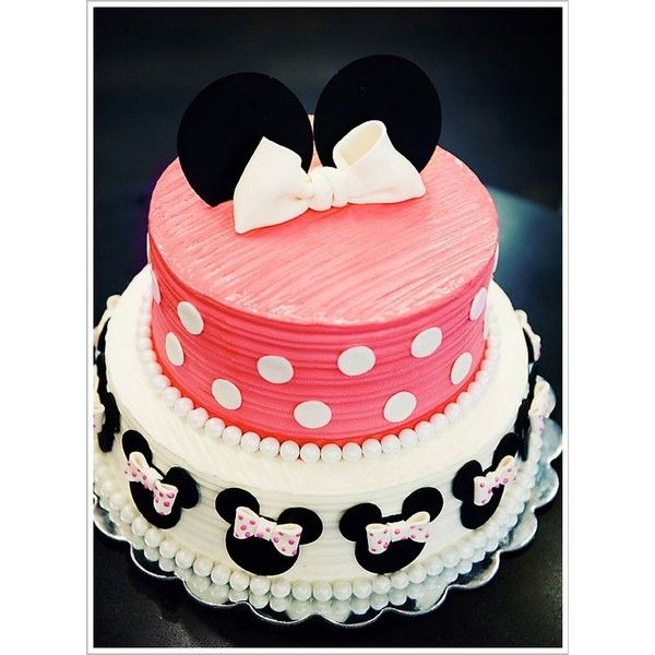 Half Baked The Cake Blog Minnie Mouse 1st Birthday Liked On