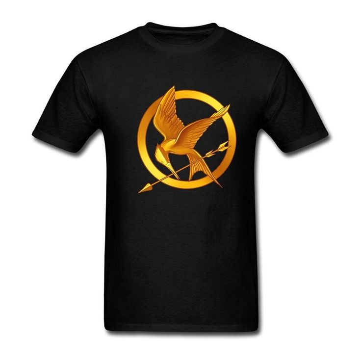 2017 hot Summer funny cool Fashion Printed Hipster Tops men's T Shirt  Simhood Men's The Hunger Games Short Sleeve T-Shirt