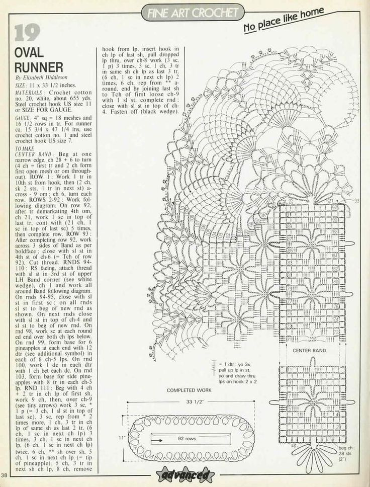 Oval Runner - Elizabeth Hiddleson  Яндекс.Фотки