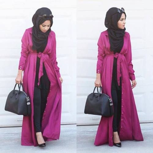 long kimono cardigan hijab, Hijab looks by Sincerely Maryam http://www.justtrendygirls.com/hijab-looks-by-sincerely-maryam/