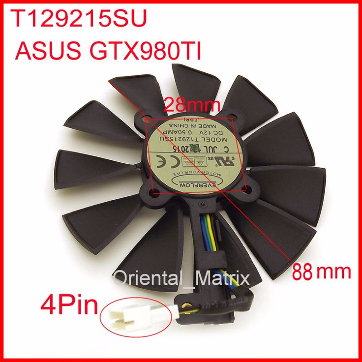 Free Shipping EVERFLOW T129215SU 12V 0.5A 88mm 28*28*28*28mm 4Pins For ASUS GTX980TI Graphics Card Cooler Cooling Fan     Tag a friend who would love this!     FREE Shipping Worldwide     Get it here ---> https://shoppingafter.com/products/free-shipping-everflow-t129215su-12v-0-5a-88mm-28282828mm-4pins-for-asus-gtx980ti-graphics-card-cooler-cooling-fan/