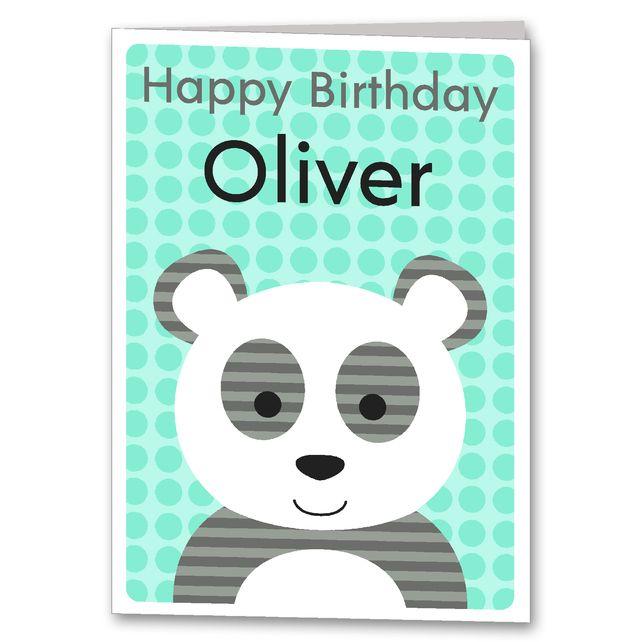 44 best Clarkie Designs Personalised Birthday Cards images on – Personalised Birthday Cards for Kids