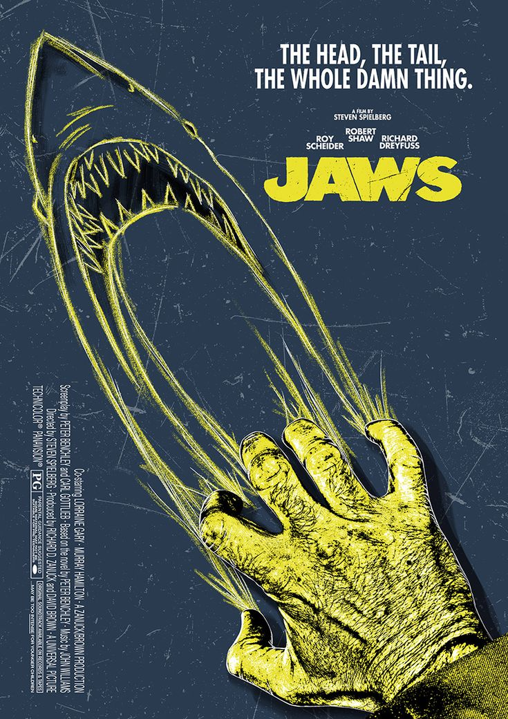 Jaws By Scott Woolston