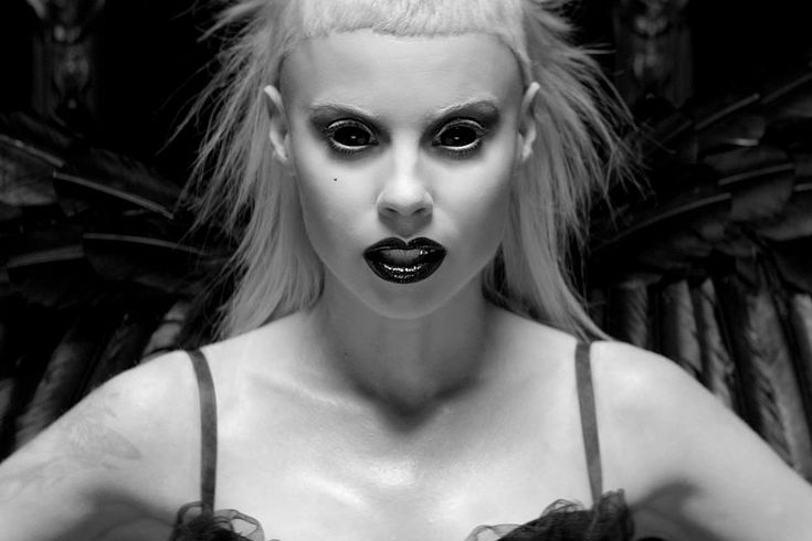 Yolandi from Die Antwoord. I cannot wrap my brain around these people but im kinda obsessed