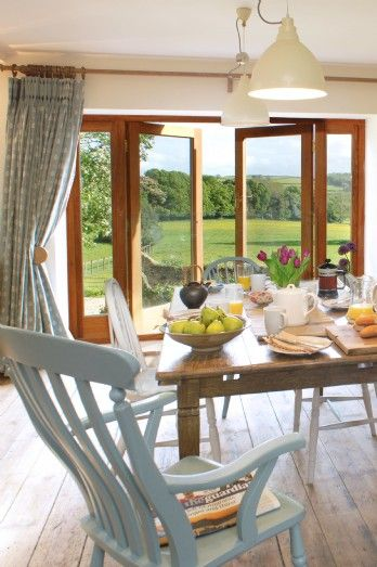 Luxury self-catering holiday cottage in the River Dart Valley