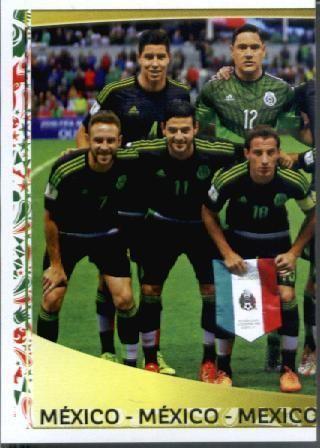 2016 Panini Copa America Centenario Stickers #207 Mexico Team