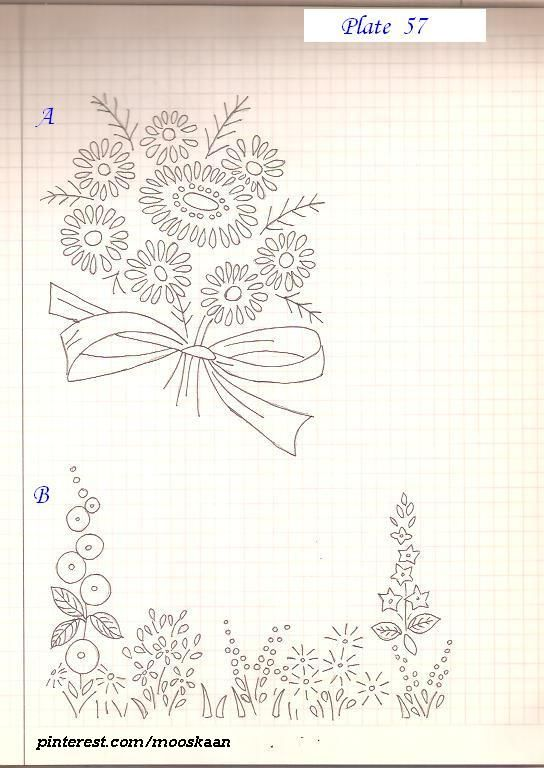 Simple embroidery patterns t