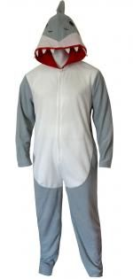 Discovery Channel Shark Week Shark Union Suit Pajama