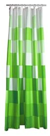 Zone Confetti Shower Curtain - Lime Green