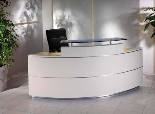 curved reception desks - Google Search