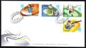 Cyprus Stamps SG 2012 (b) London Olympic Games - Official FDC - £2.69