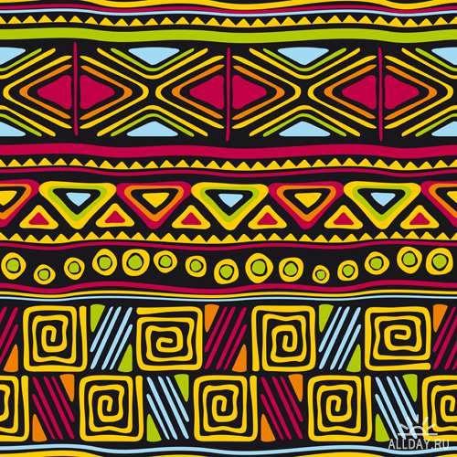 Африканские орнаменты - Векторный клипарт | African ornaments - Stock Vectors