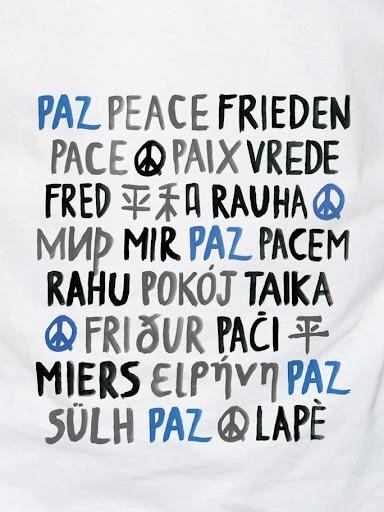 Paz  - Peace | Regràfica