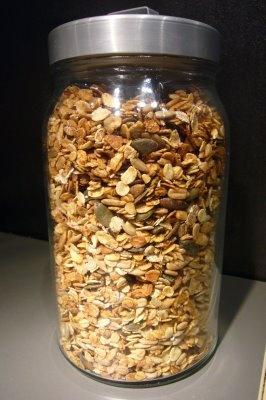 On dine chez Nanou: Pour un petit déjeuner équilibré pendant les vacances : Granola maison