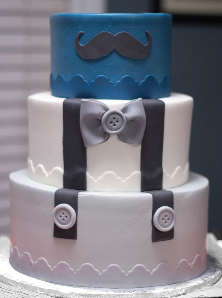 https://flic.kr/p/AQezxk | Little Man Baby Shower Cake