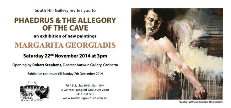#Gunning artist Margarita Georgiadis's current exhibition at South Hill Gallery #Goulburn > check it out from 22 November 2014 to 7 December 2015 > https://www.facebook.com/pages/Margarita-Georgiadis-Artist/421176591248437