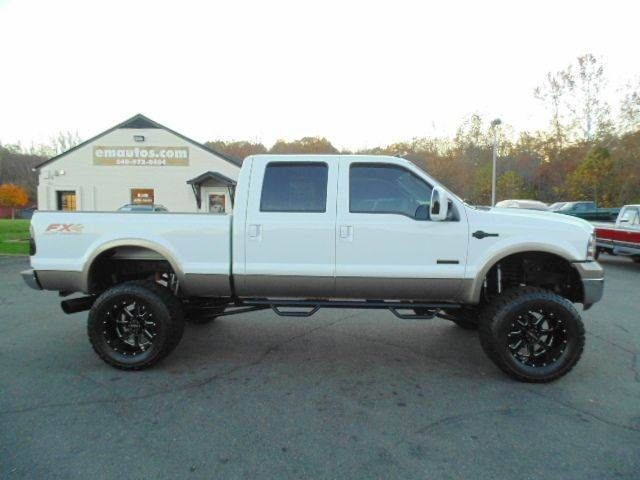 WWW.EMAUTOS.COM LIFTED 2006 Ford F-250 Super Duty King Ranch Crew Cab 4x4 Short Bed DIESEL TRUCK FOR SALE - Locust Grove VA #Emautos