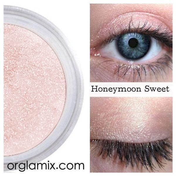 Honeymoon Sweet Eyeshadow - Mineral Makeup | Natural Mineral Cosmetics | Vegan + Cruelty Free | ORGLAMIX.COM