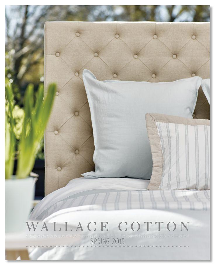 Wallace Cotton Spring 2015 Catalogue Cover www.wallacecotton.com