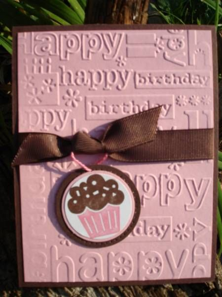 'Party Cupcake' by djahner - Cards and Paper Crafts at Splitcoaststampers