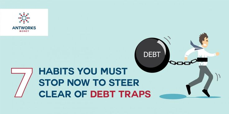 Are you on the right track when it comes to your personal finances? Or are you heading into a debt trap? If yes, here's bit.ly/2snXlqD why you must stop these habits ASAP to get your finances back on track. #CreditCounsellingAgency
