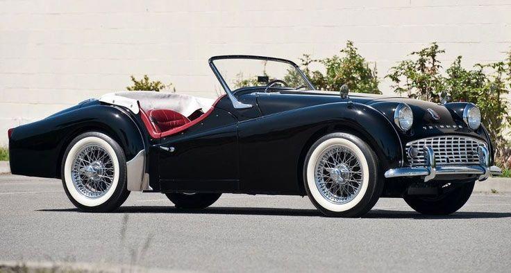 Triumph Vintage Cars Sports Cars