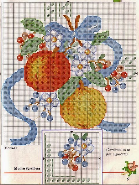 ♥ My ♥ Graphs Cross Stitch: Flowers