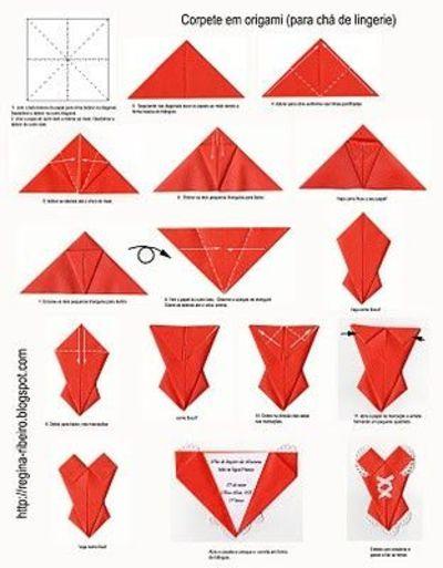 origami corset
