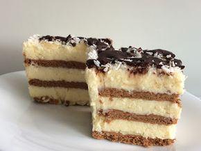 Ciasto bez pieczenia z kokosem