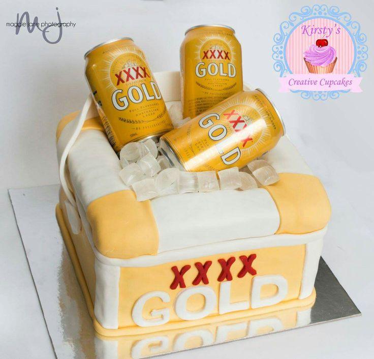 XXXX Gold esky cake