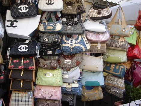 Fake Handbags in New York City