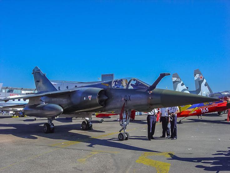 Dassault Mirage F1CT - Salon du Bourget - Paris AirShow 2005 - Laurent Charles - Google+