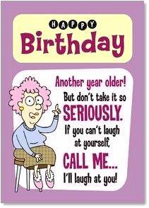 """Happy Birthday"" aunty acid"