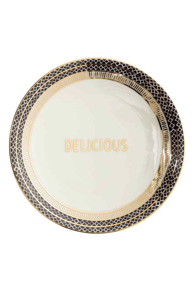 Plato de porcelana pequeño | H&M