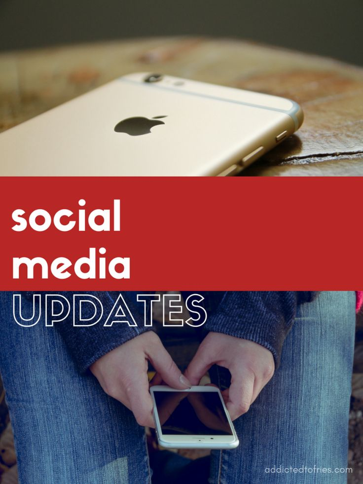Social Media Updates: 5 Stories You May Have Missed Addicted to Fries - This week's social media updates include headlines from Twitter, Google, Disney and Snapchat. Which social media stories caught your eye?