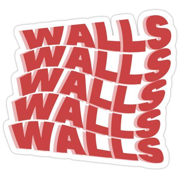 Wavy Walls Louis Tomlinson Sticker By Abigail Chin In 2020 Print Stickers Stickers Printable Stickers