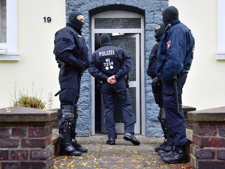 Terror network radicalising Isis fighters to send to Syria arrested in Germany