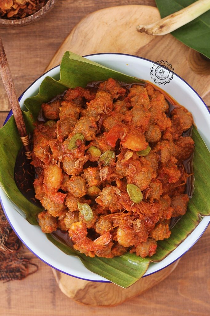 Sambel Goreng Printil Daging Catatan Nina Makanan Dan Minuman Resep Daging Resep Masakan