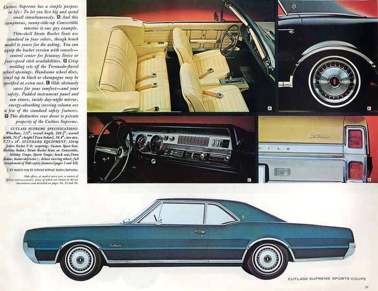 407 Best Oldsmobile..Car Brochures Images On Pinterest | Brochures